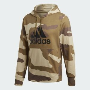 ee609fe9 Image is loading Adidas-x-Undefeated-Men-Running-Hoodie-tan-khaki
