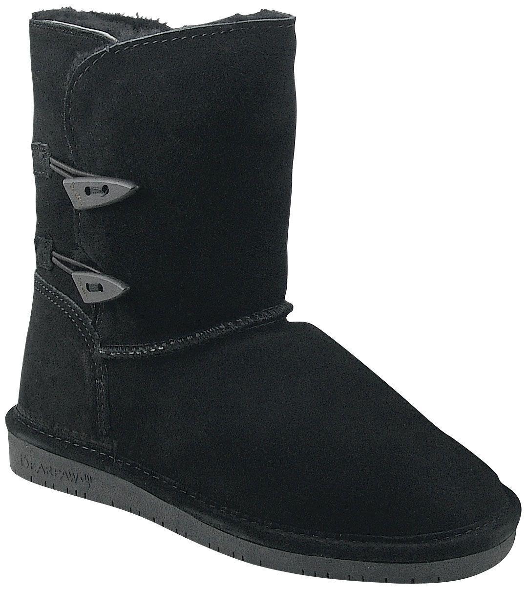 Donna Bearpaw Abigail Boot Nero Nero Boot Size 6 #NT999-889 4c508b