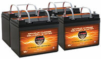Electric Mobility Qty4 Vmax Mb857-35 Agm Battery Rascal Scooter