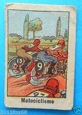 figurines cromos figurine sportive sport anni 30 40 v.a.v. vav motociclismo moto