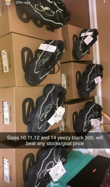 a854c7275 adidas Yeezy 500 Utility Black for sale online