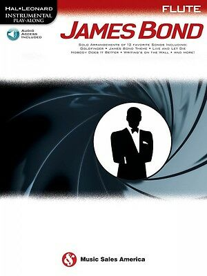 James Bond Flute Instrumental Play-along Book And Audio New 014047847 2019 Latest Style Online Sale 50% Instruction Books, Cds & Video Wind & Woodwinds