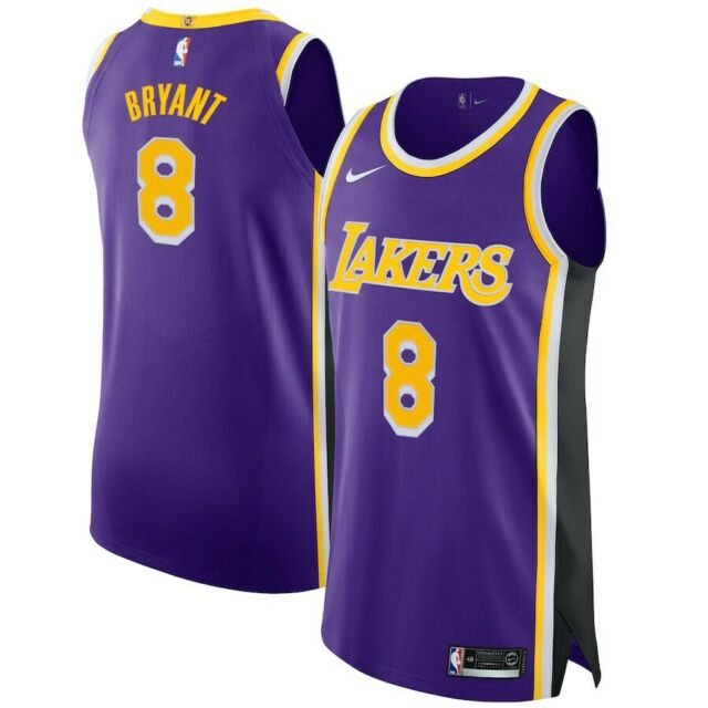 Los Angeles Lakers 8 Kobe Bryant Champion Jersey XXL 52 for sale ...