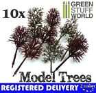 10X Bare Trunk Tree Branch 12cm -- Warhammer Model Train Park Scenery Landscape