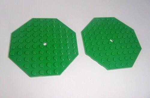 in grün aus 10236 5887 7946 70404 70402 89523 2 octagonale Platte 10x10 Lego
