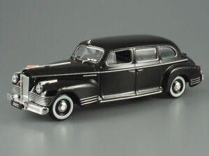 ZIS-110-Black-Luxury-Soviet-Limousine-1945-Year-1-43-Scale-Diecast-Model-Car
