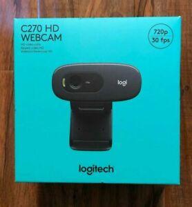 Logitech C270 Webcam Hd 720p Video 30 Fps Ships Today 97855070739 Ebay
