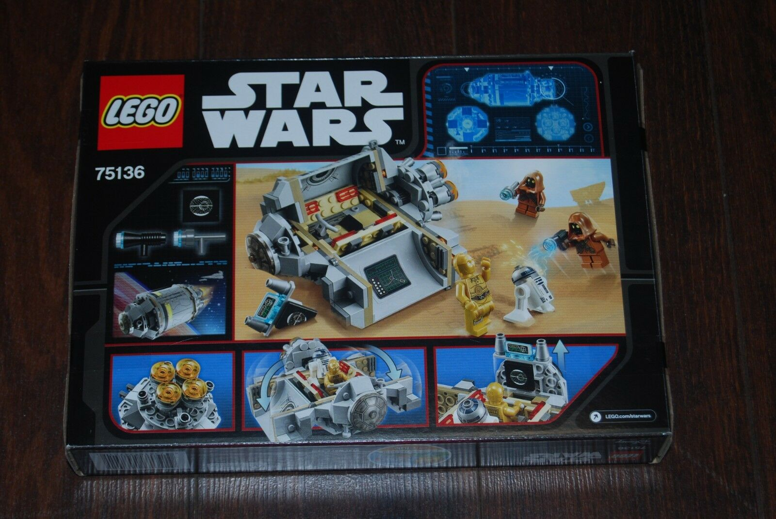 LEGO StarWars Droid Droid Droid Escape Pod New Sealed  RETIRED  75136 c705a5