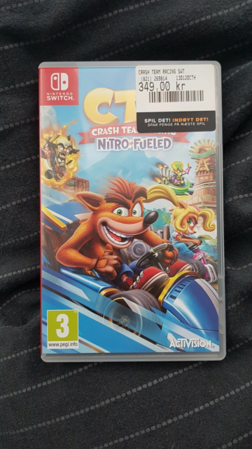 Crash team racing swt, Nintendo Switch, Skive mig kun SMS