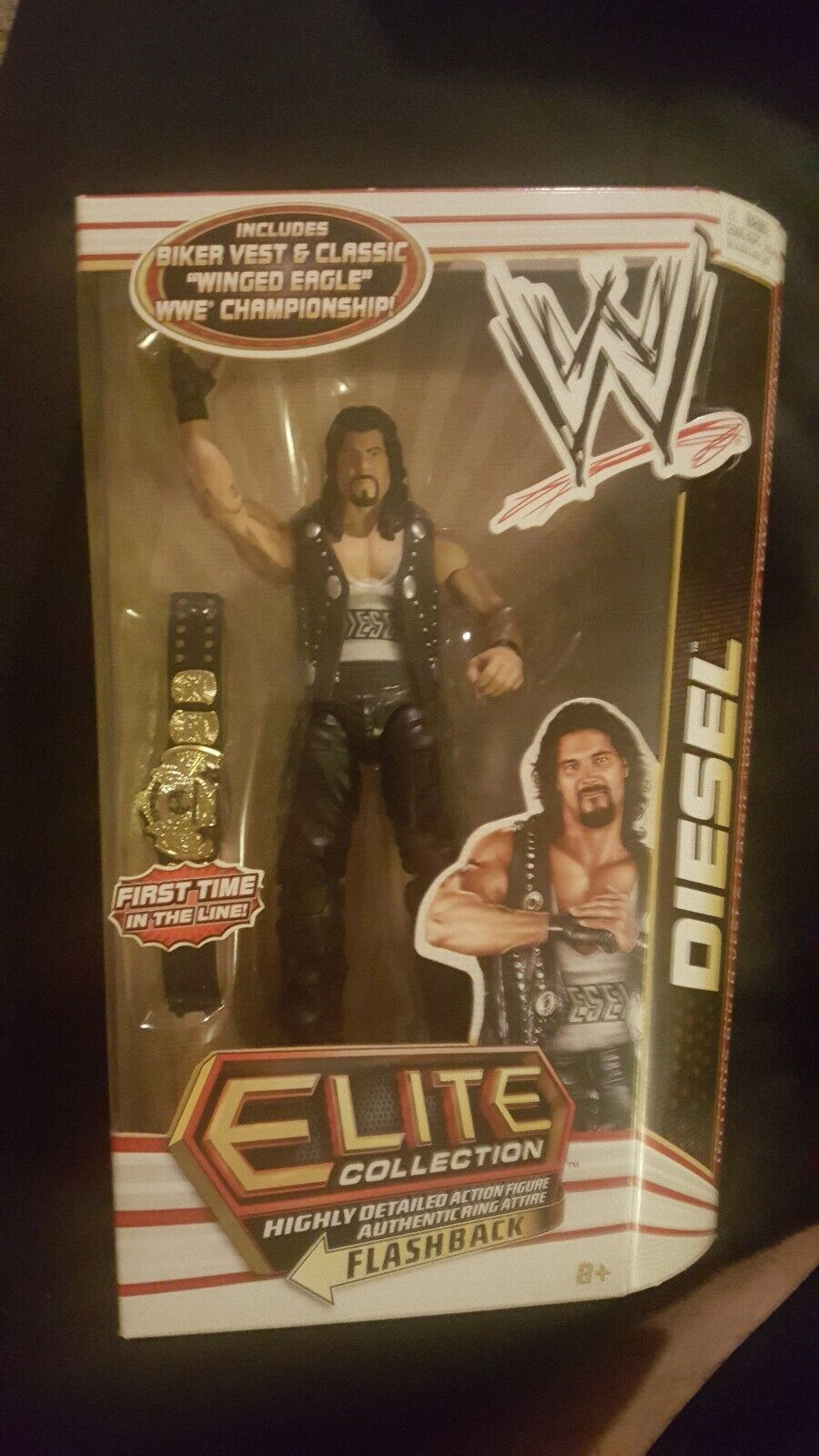 WWE Elite Collection Series 16 Diesel (New In Box) First Time In The Line figure