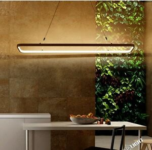 Details About Modern 120cm LED Dining Room, Office, Restaurant, Kitchen  Pendant Lighting Lamp
