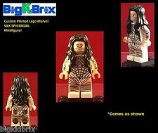 SILK SPIDERGIRL Marvel Custom Printed LEGO Minifigure! NO Decals Used!
