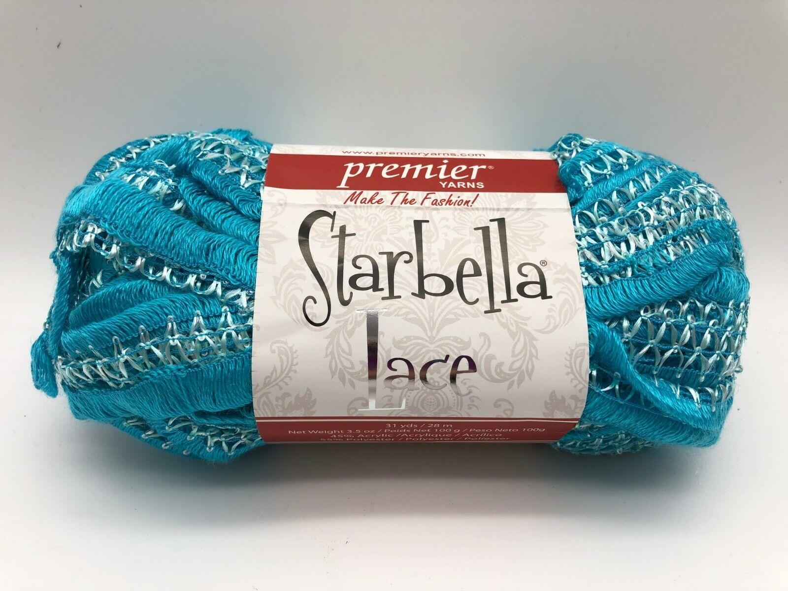 Premier Yarns Starbella Stripes Ruffle Yarn 99 Total Yards 3 Bundles in PKGE