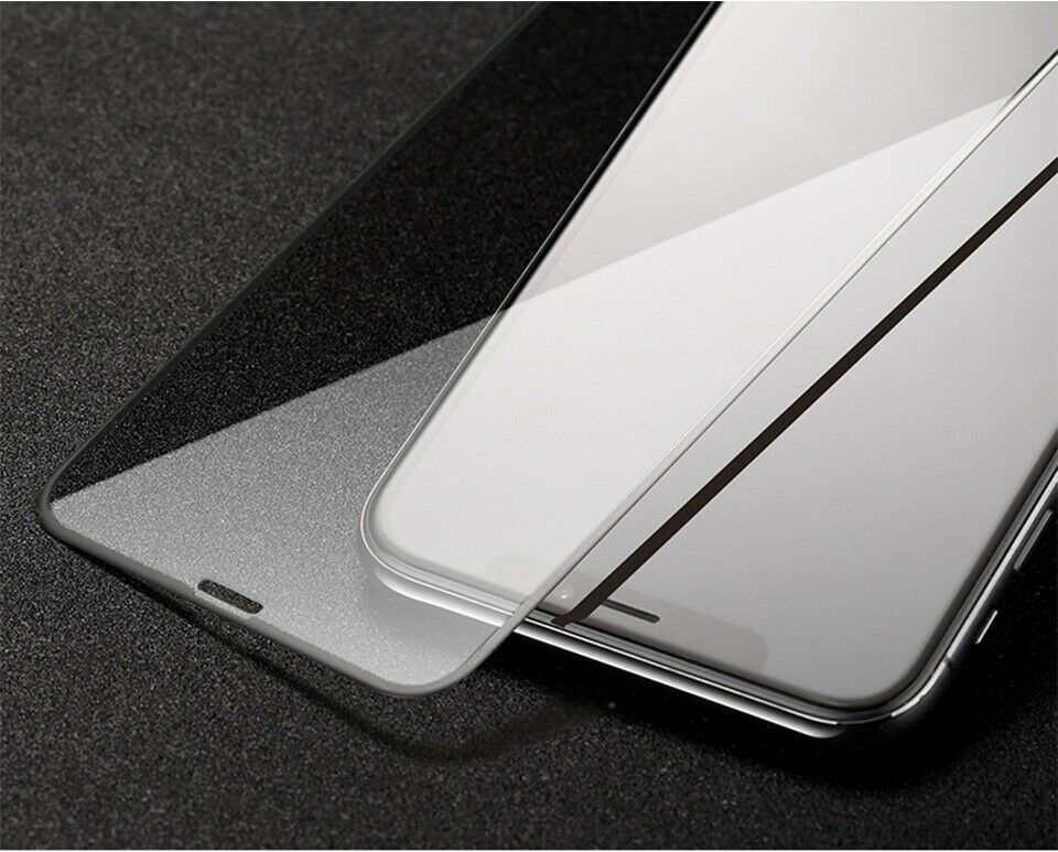 3x iPhone 11 Pro Max Panzer Folie Glas Display Schutz FULL Cover Clear 9H