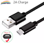 miniature 2 - 6FT OEM Type USB-C to USB-A Fast Charge Cable Cord Quick Charger Charging Sync
