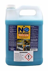 Optimum No Rinse >> New Optimum No Rinse Wash Shine Onr 1 Gallon Factory Fresh Ebay