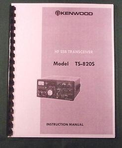 kenwood ts 820s transceiver repair manual