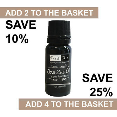Clove Bud Essential Oil 10ml - 100% Pure & Natural Essential Oils - Aromatherapy