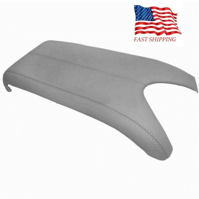 New Grey Center Console Lid Armrest Cover For 2007-2012