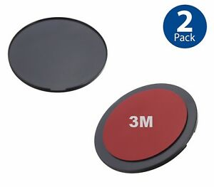 90mm Circular Adhesive Dash//Console Disc Adapter Plate