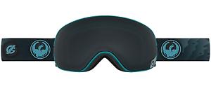 NEW Dragon X2S Goggles-Gigi Signature-Dark Smoke+Yellow Red-SAME DAY SHIPPING