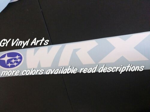 Windshield,Decal,Car,Sticker,Banner,Graphic,compatible with,Subaru,Wrx,Sti