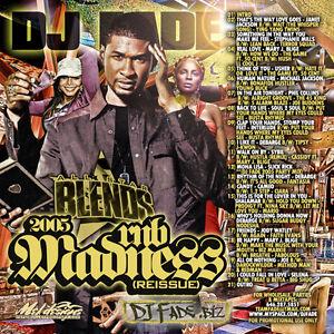 DJ-FADE-All-Star-Blends-2005-R-amp-B-Madness-Reissue-CD-Mixtape