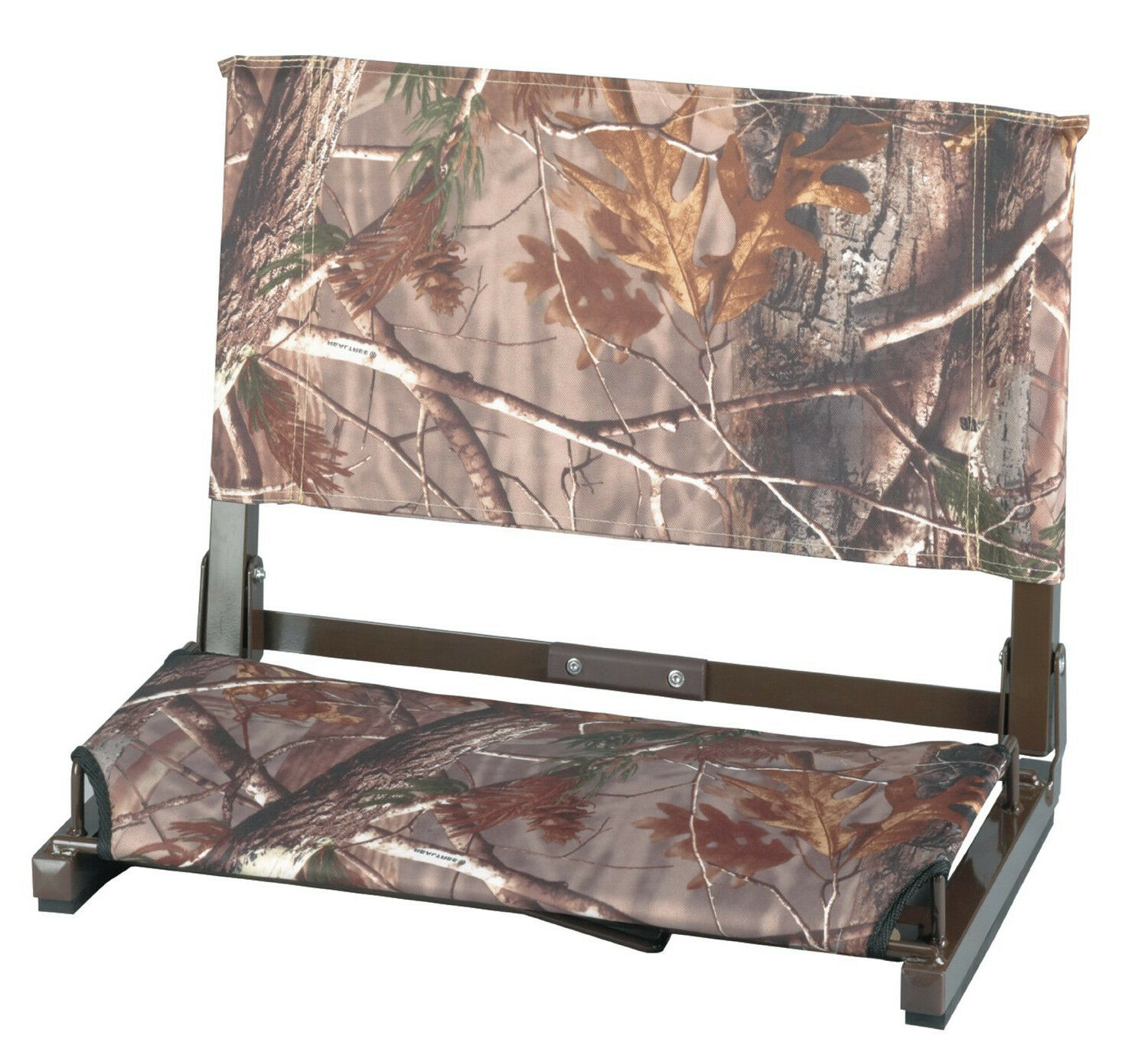 Realtree CAMO WIDE Folding Stadium Chair  Bleacher Hunting Seat Portable
