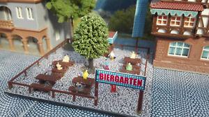 Biergarten-Bausatz-Spur-N-1-160