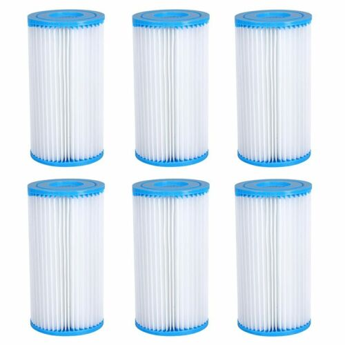 1//4//6pack Intex Easy Set Swimming Pool Type A or C Filter Replacement Cartridges