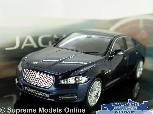 JAGUAR XJ MODEL CAR 1 43 SCALE DARK SAPHIRE blueE X J SALOON IXO DEALER SPECIAL K