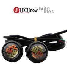 2x 15W 12 SMD LED Dual Lights Eagle Eye Back Up Reverse Daytime Running Signal