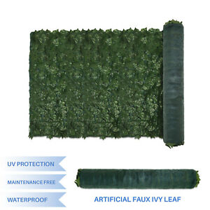 4x8 6x14 Faux Green Ivy Leaf Fence Mesh Cover Decor