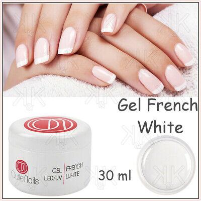 Eccezionale Gel bianco French 30ml Gel unghie Uv led white per ricostruzione MB81