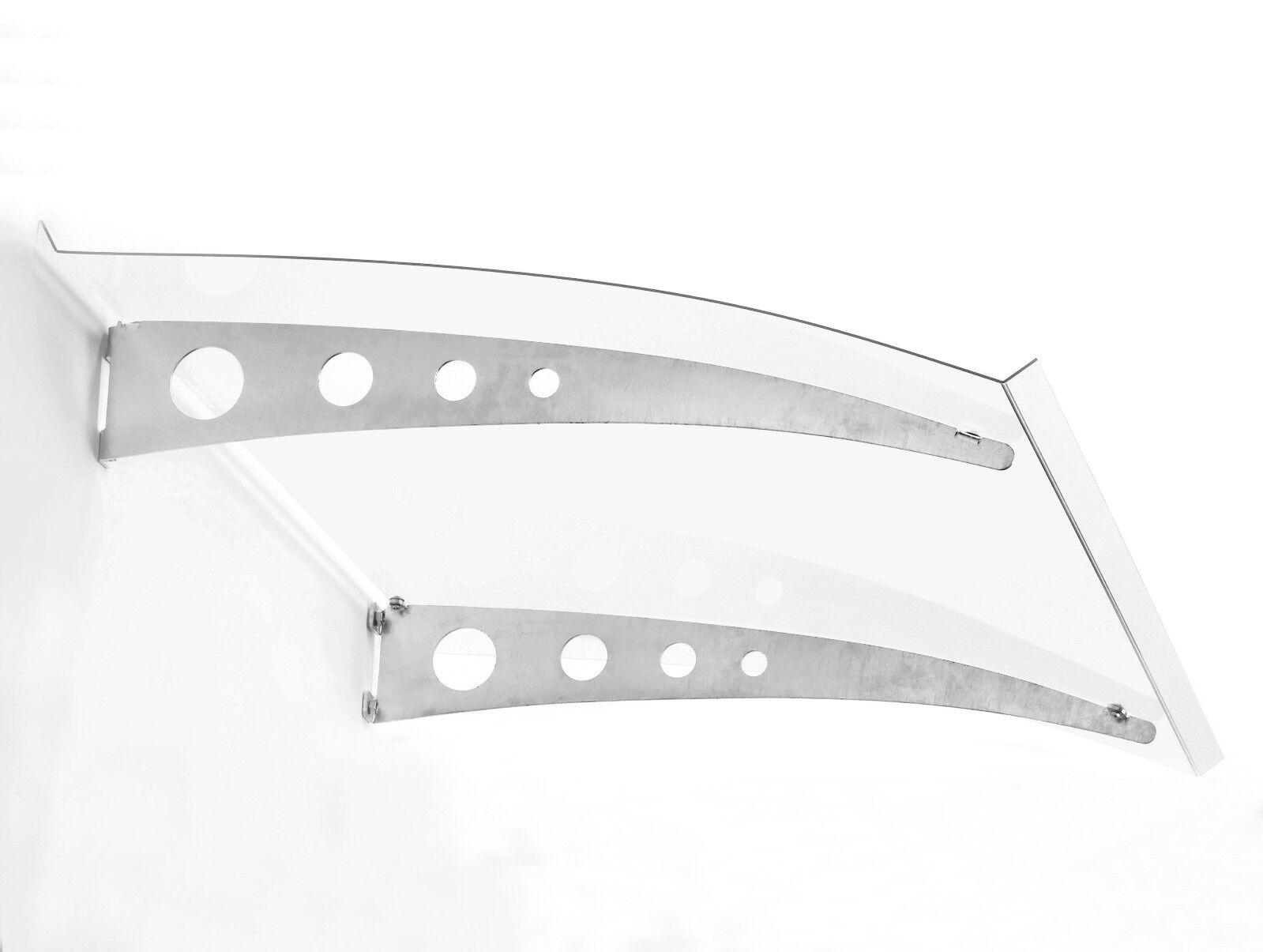 Haustürvordach / Pultvordach Pico Top 1400,  Maße:140cm x 90cm x 17cm (BxTxH)