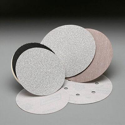 "Norton A275 Champagne 6/"" PSA Disc Roll Grade P220B 100 discs Sandpaper 31476"