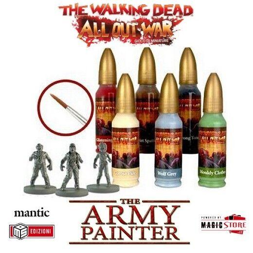 Mantische the Army Painter,the walking dead All Out War Walker paint set,6  | Die Königin Der Qualität