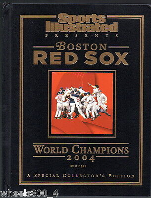 Sports Illustrated 2004 Boston Red Sox World Series Champions SI Hard Cover Mint