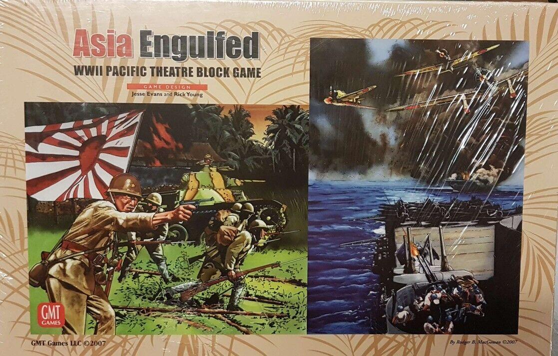 GMT - Wargame - Asia Engulfed -  nouveau unpunched and sealed - originale sigillato  40% de réduction