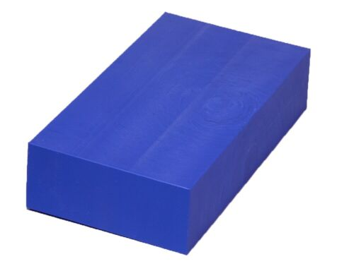 "HDPE Plastic Bar Stock 2/"" x 6/"" x 12/"" for Machining Choose from 6 Colors!"
