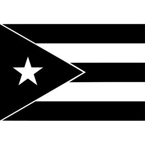 Puerto-Rico-Flag-Vinyl-Sticker-Decal-Taino-Rican-Choose-Size-amp-Color