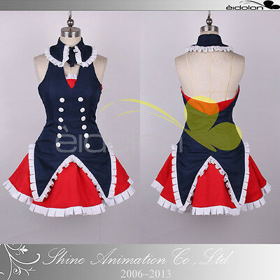 EE0234AA Problem Children are Coming from Another World Cosplay Costume