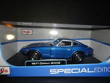 Maisto Datson 240Z 1971 Blue 1/18
