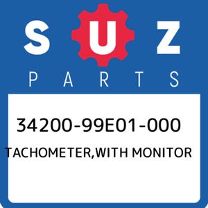 34200-99E01-000-Suzuki-Tachometer-with-monitor-3420099E01000-New-Genuine-OEM-Pa