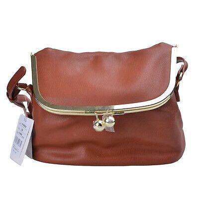 Legato Largo Dark Brown Japan Fashion Shoulder Rucksack Casual Backpack