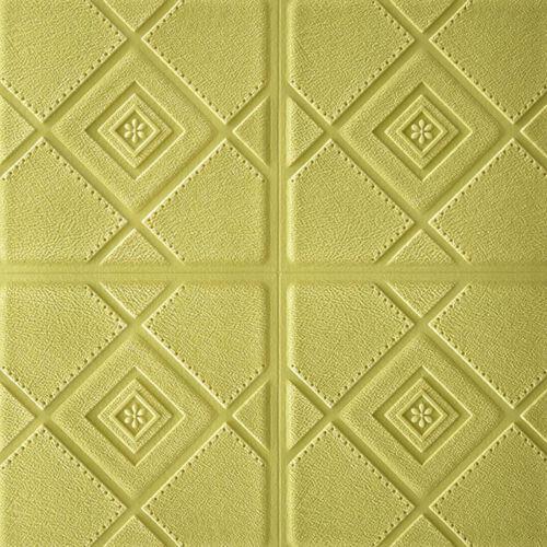 PE Foam 3D Wallpaper DIY Wall Stickers Wall Decor Embossed Brick Stone Durable