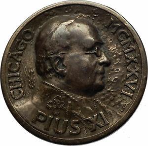 Chicago-International-Eucharistic-Congress-POPE-PIUS-XI-Christian-Medal-i71752