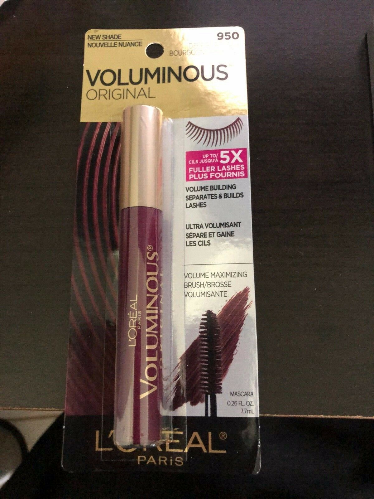 29af69c1fda L'Oréal Voluminous Original Volume Maximizing Mascara 950 Deep Burgundy for  sale online | eBay