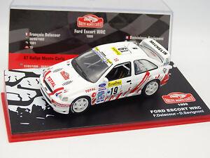Ixo-Presse-Rallye-Monte-Carlo-1-43-Ford-Escort-WRC-1999