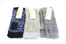 New Solid Snug Yarn Fingerless Gloves in 16 Colors by Collection XIIX #FG4